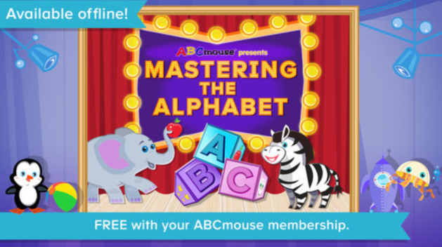 ABCmouse Mastering the Alphabet app - by Age of Learning